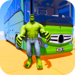 Superhero Big Bus Stunts Drive