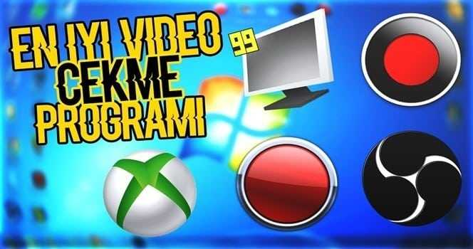 Ekran Kayıt ve Oyun Videosu Çekme Programları