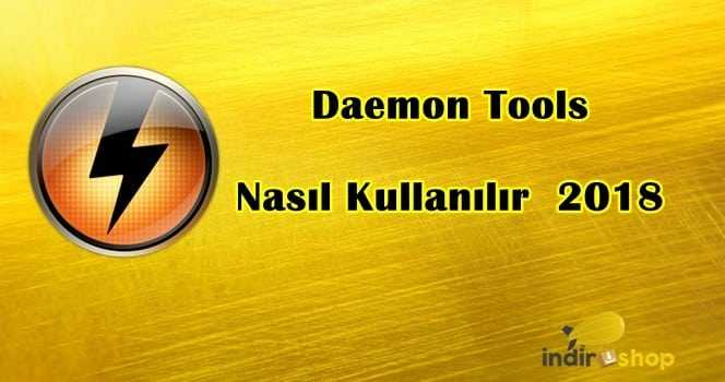 Daemon Tools Lite Kullanımı Resimli Anlatım Türkçe