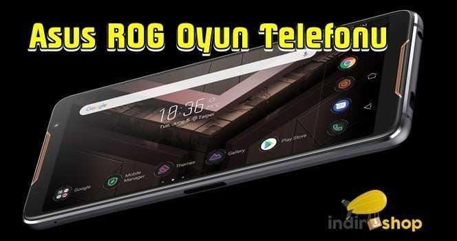 Asus ROG Telefon incelemesi