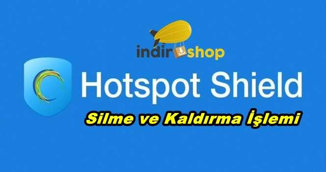 Hotspot Shield Silme
