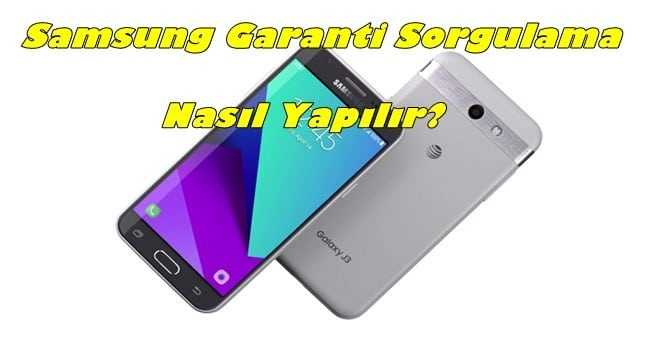 Samsung Garanti Sorgulama