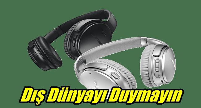 En İyi Gürültü Önleme Kulaklığı – Bose QuietComfort QC 35