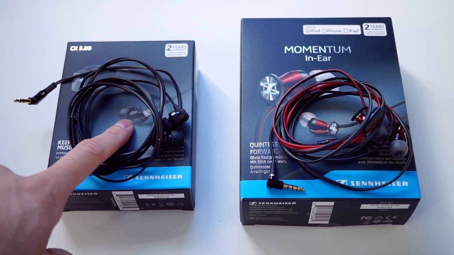 En İyi İç Kulaklık – Sennheiser's Momentum In-Ear M2