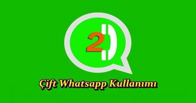 Tek Telefonda Çift Whatsapp Nasıl Kullanılır?