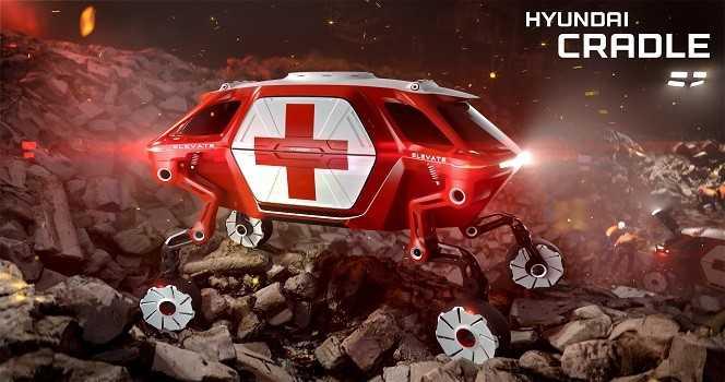 Hyundai Yeni Arabası Elevate CES 2019 Tanıttı