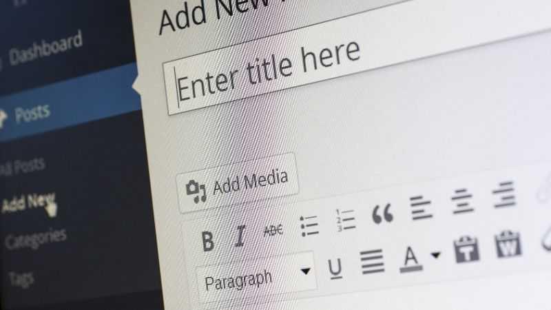 WordPress Görsel Metin Editörü Sorunu