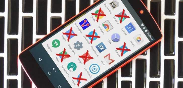 Android Ön Yüklü Uygulamaları Kaldırma