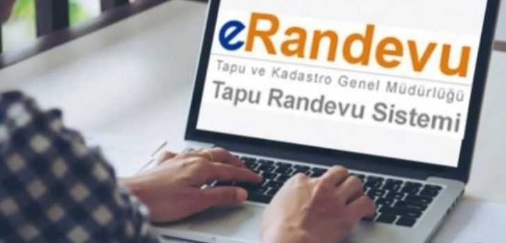 Web Tapu ve eRandevu Üzerinden Online Tapu Randevu