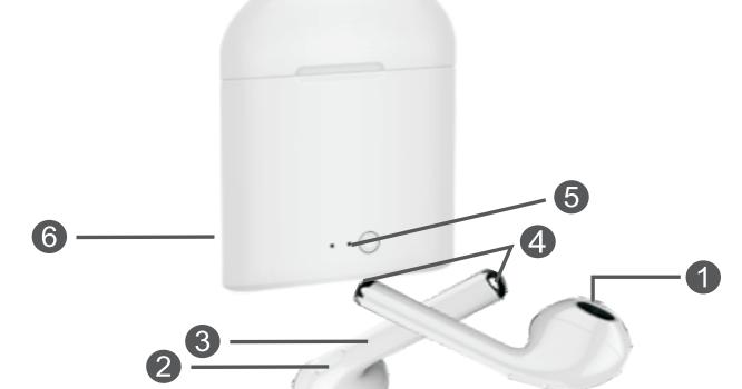 Piranha 9945 Bluetooth Kulaklık