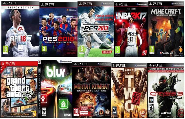 PlayStation 3 Oyun Yükleme